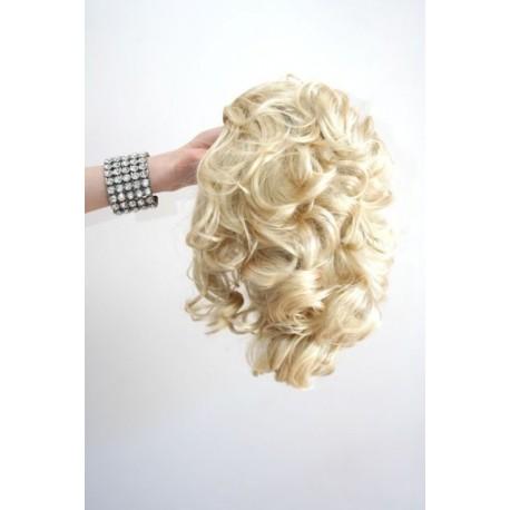 Short 20cm Dumb Blonde Synthetic Extension