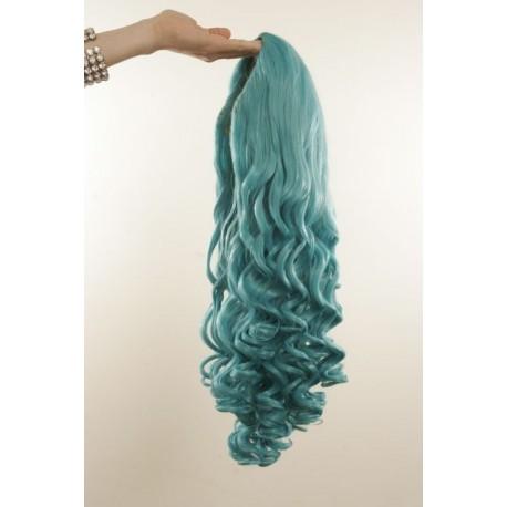 Long 60cm Gaga Blue Synthetic Extension